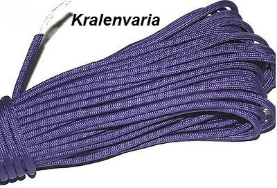 Paracord 550 Paars  4 mm dik