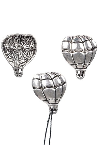 Metalen hanger luchtballon 22x17mm
