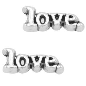 Floating charm Love 10x4 mm