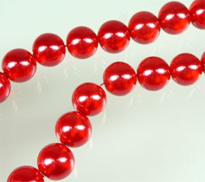Glasparel doorzichtig 10 mm Rood