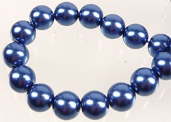 Glasparel 8 mm Blauw