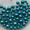 Glasparel mix  8-14 mm Blauw