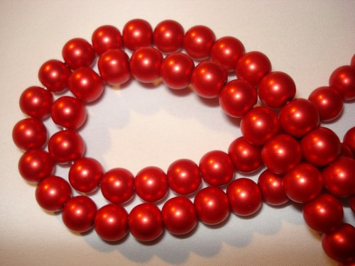 Glasparel 4 mm Fel Rood
